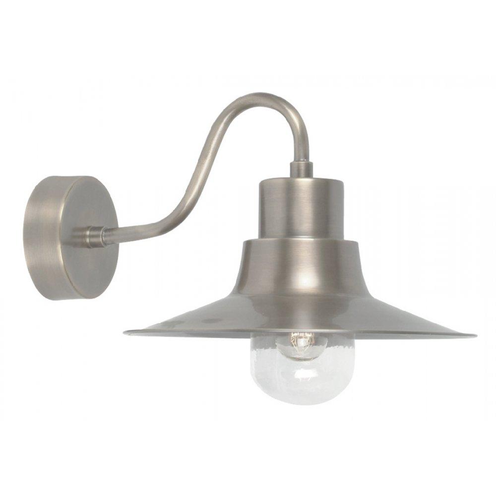 Elstead lighting sheldon antique nickel outdoor wall light workwithnaturefo