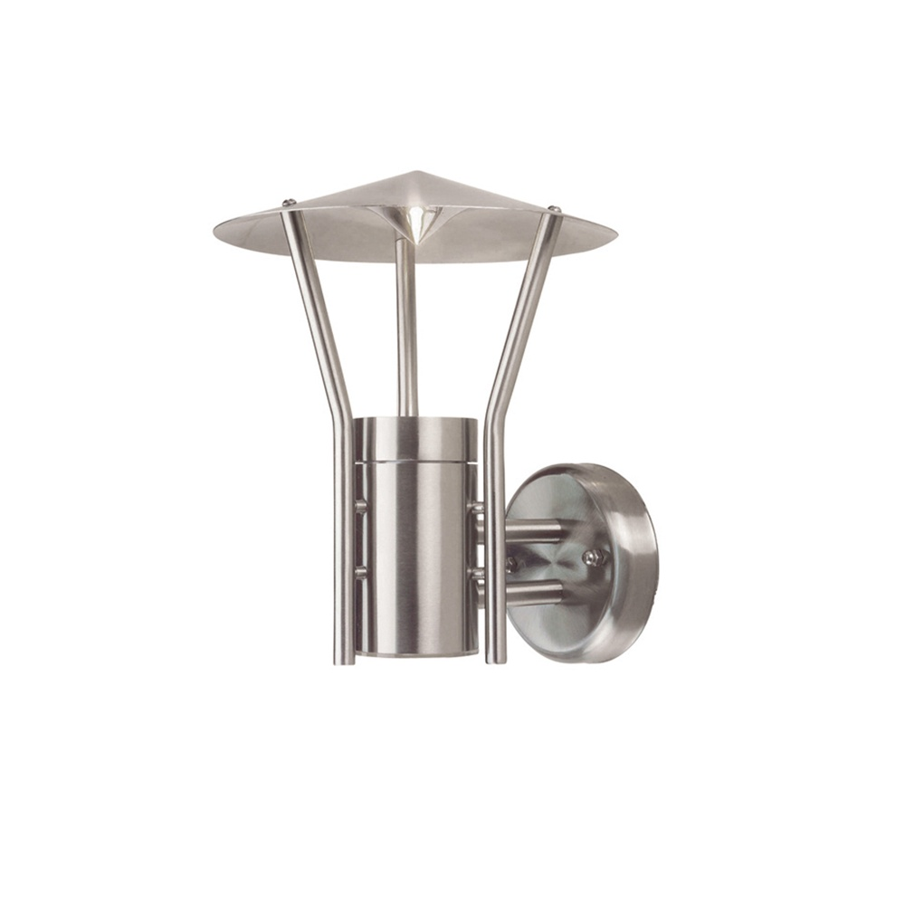 Elstead Lighting Astoria Stainless Steel Outdoor Wall Lantern