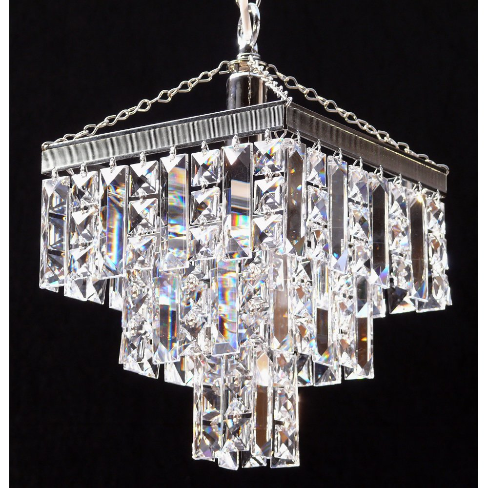 lighting fantastic lighting 180 8 1 tempo 3 tier pendant crystal