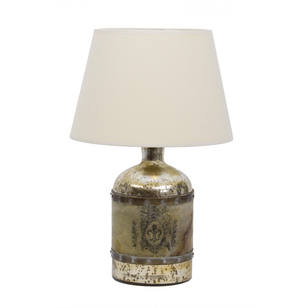 Mercury glass table lamps uk table designs libra company glass bottle 67006 197607 antique mercury with stone aloadofball Gallery