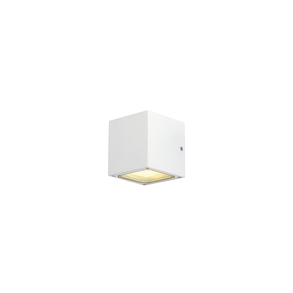 Intalite UK Sitra Cube 232531 Square White Wall Light - Intalite UK from Lightplan UK