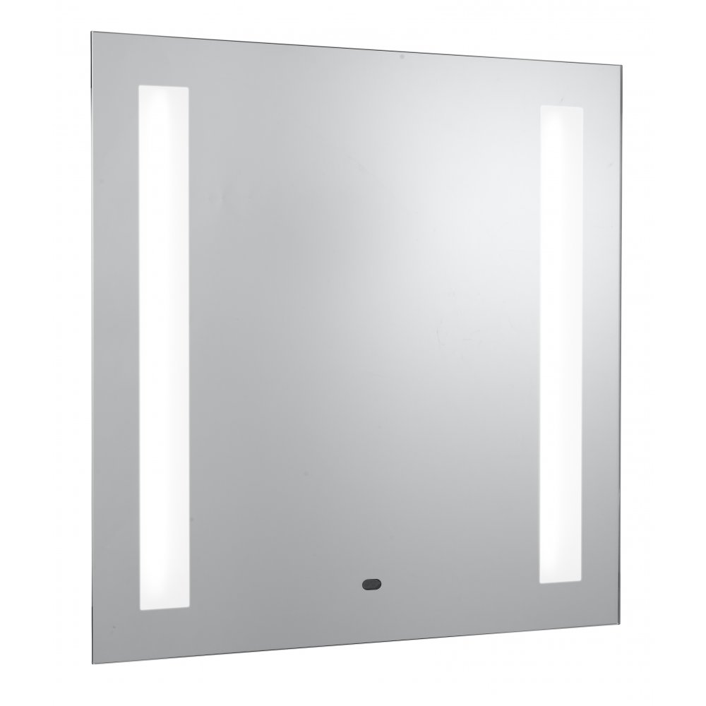 Electric bathroom mirrors - Searchlight Electric 8810 Glass Illuminated Bathroom Mirror Wall Mounted
