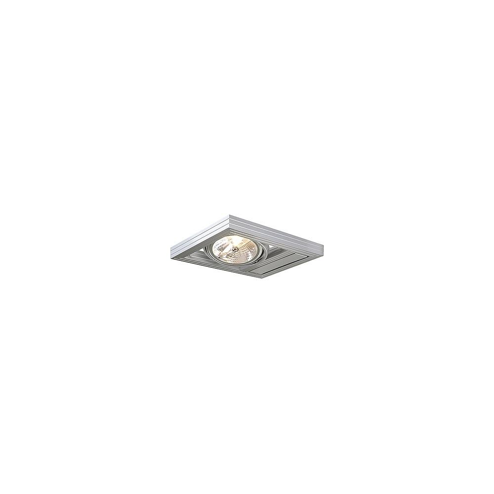 Intalite UK Aixlight Kardaframe 154262 Silver Grey Wall Light