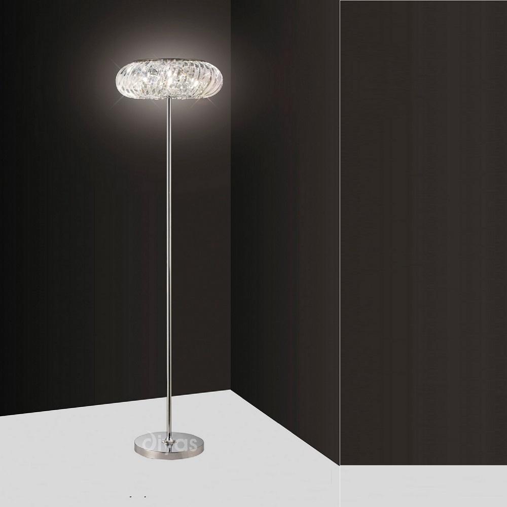 diyas uk banda il30088 polished chrome crystal 6 light. Black Bedroom Furniture Sets. Home Design Ideas