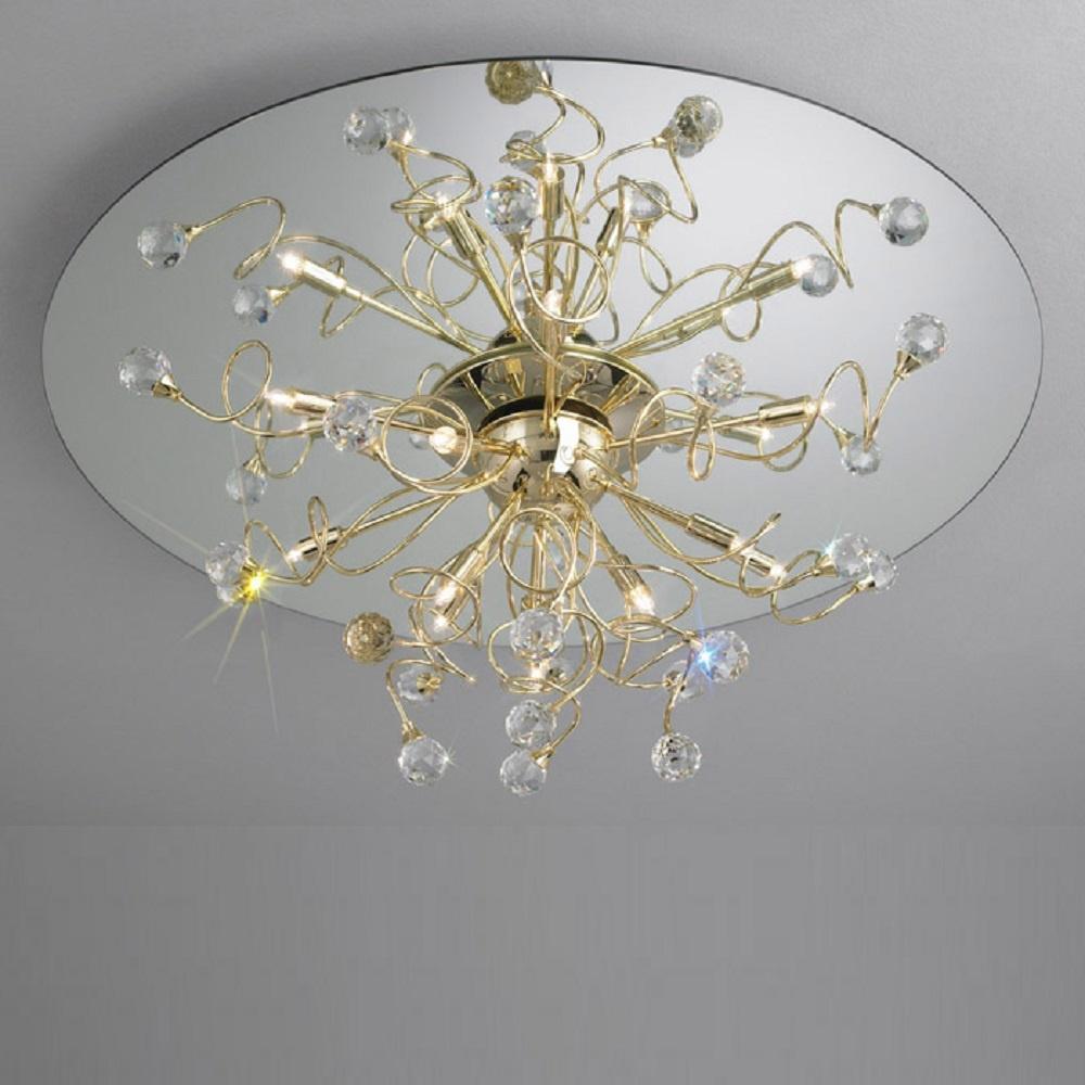 kolarz uk ltd polaris 1113 112 3 spt gold ceiling light