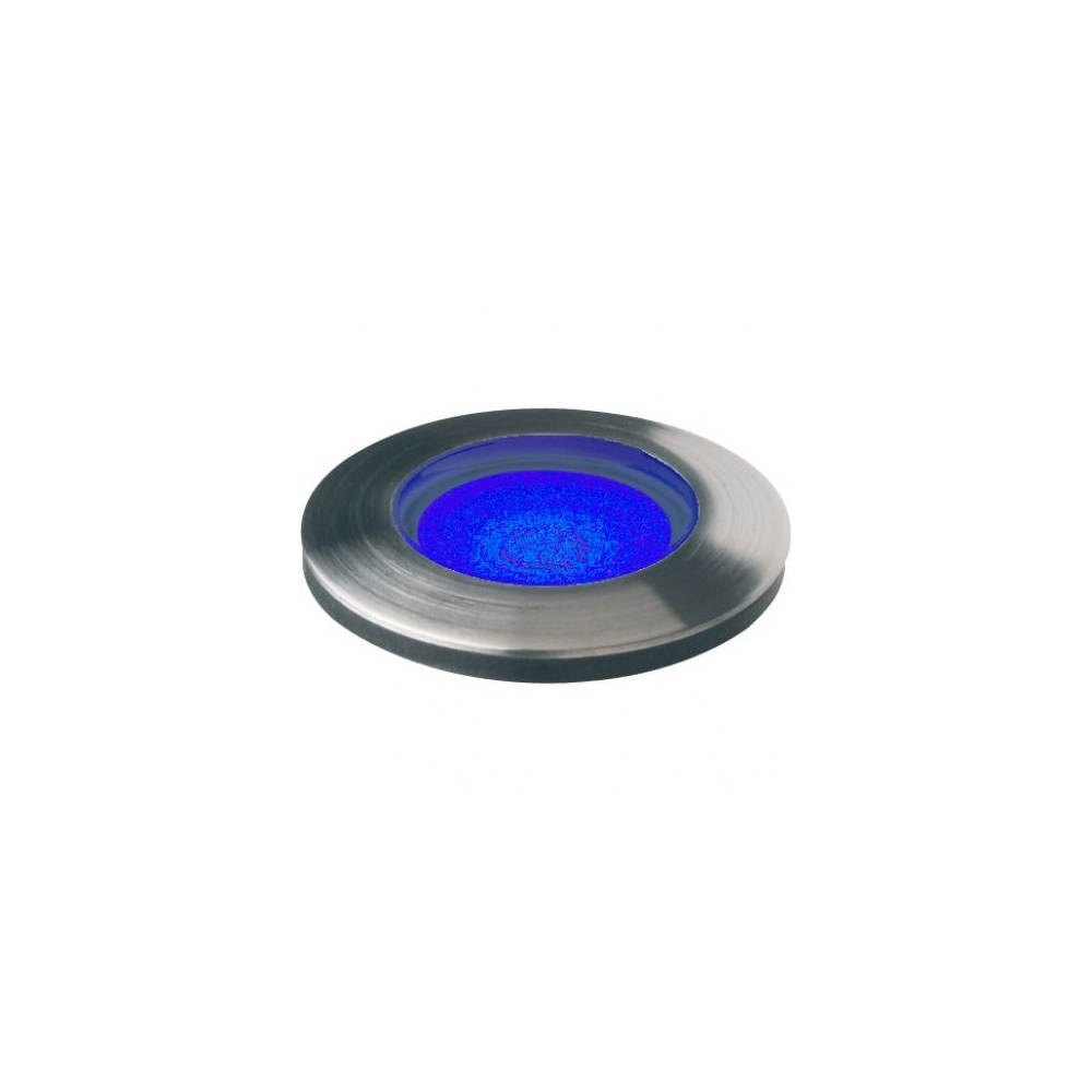 Small Led Lights : ... Lighting GL018 T BL Stainless Steel Panel Mount LED Marker Light Small