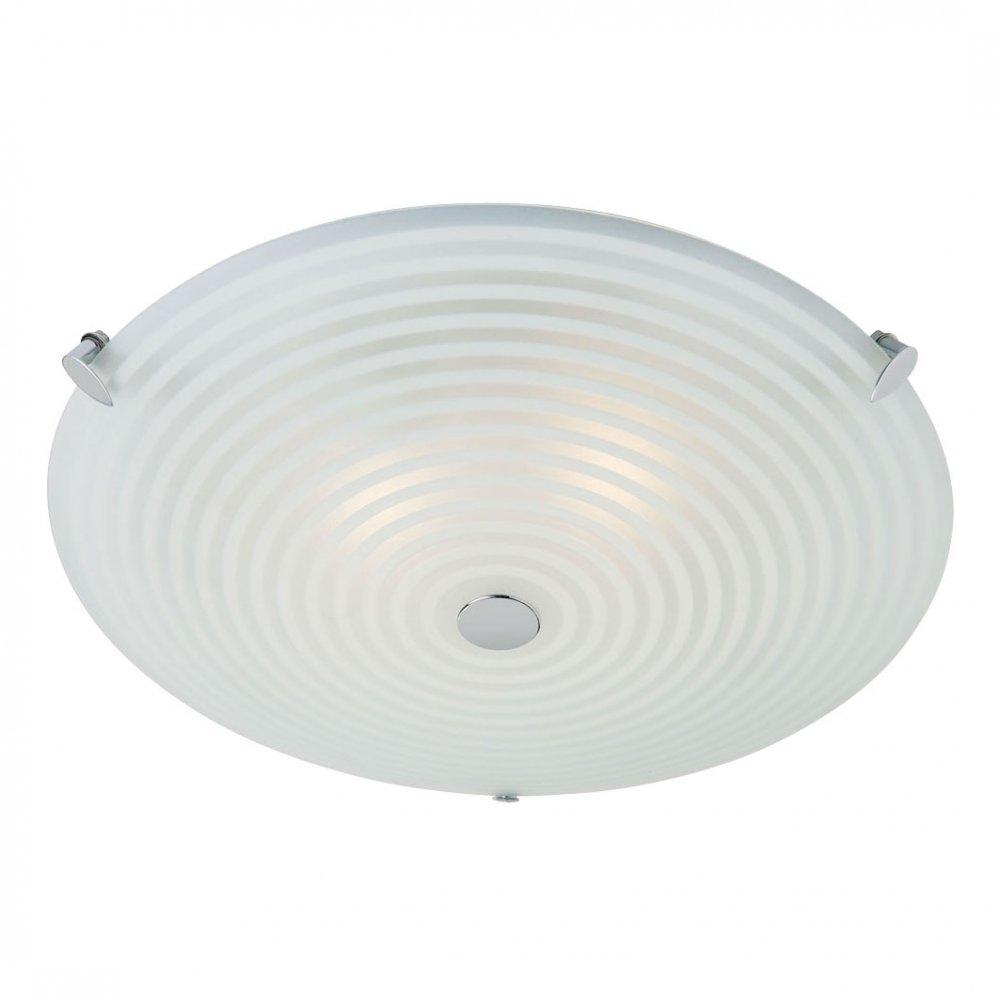 Endon Lighting 633 32 Glass Semi Flush Ceiling Light