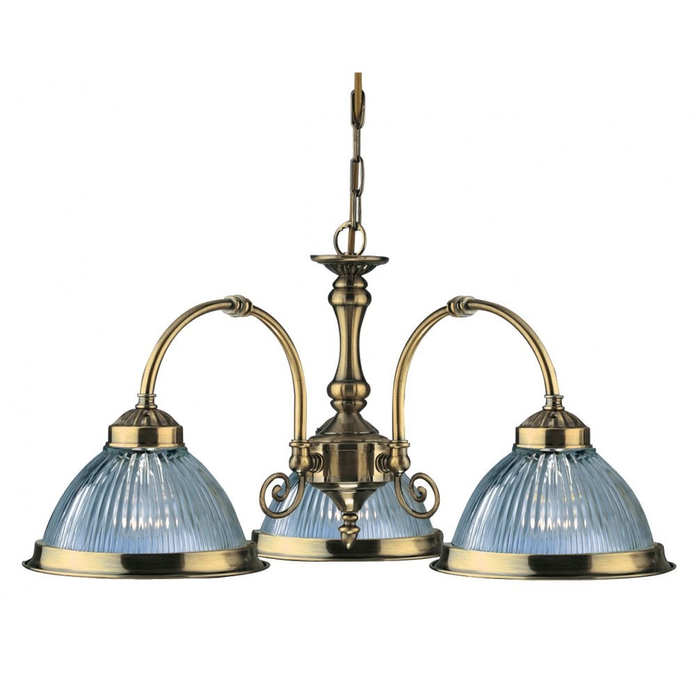 Searchlight Electric American Diner 9343 3 Pendant Buy