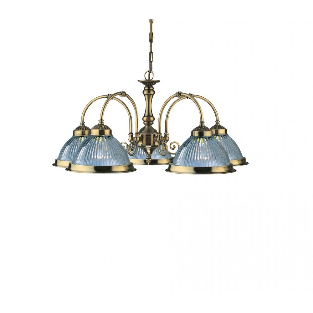 Www American Electric Lighting: Searchlight Electric American Diner 9345-5 Pendant