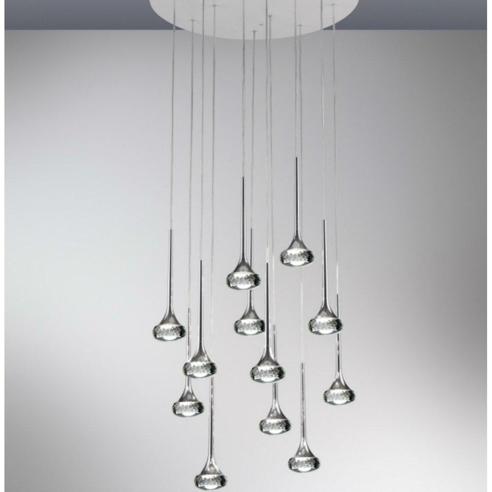 axo light fairy spfairgrcrled grey pendant ceiling light  axo  - axo light fairy spfairgrcrled grey pendant ceiling light