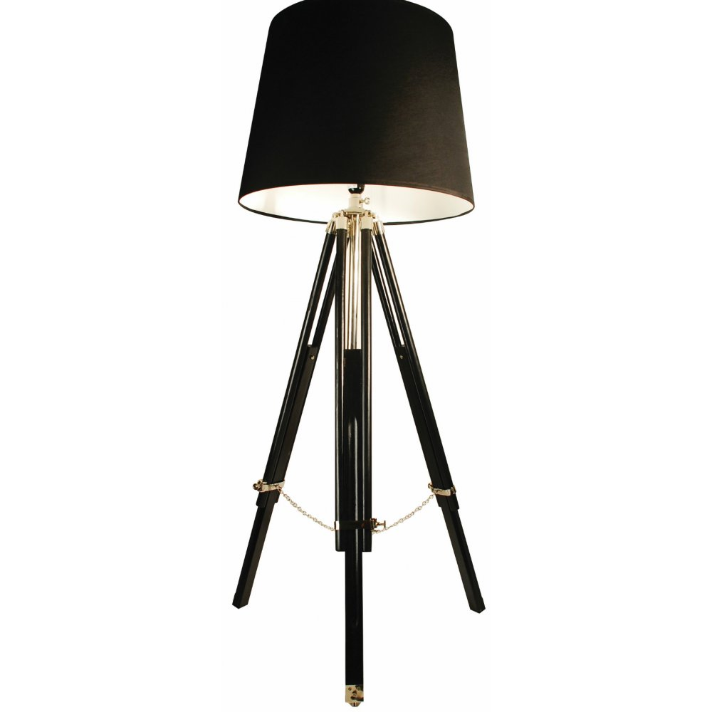 Libra company chapelle 37690 black wood with black shade tripod libra company chapelle 37690 black wood with black shade tripod floor lamp aloadofball Choice Image