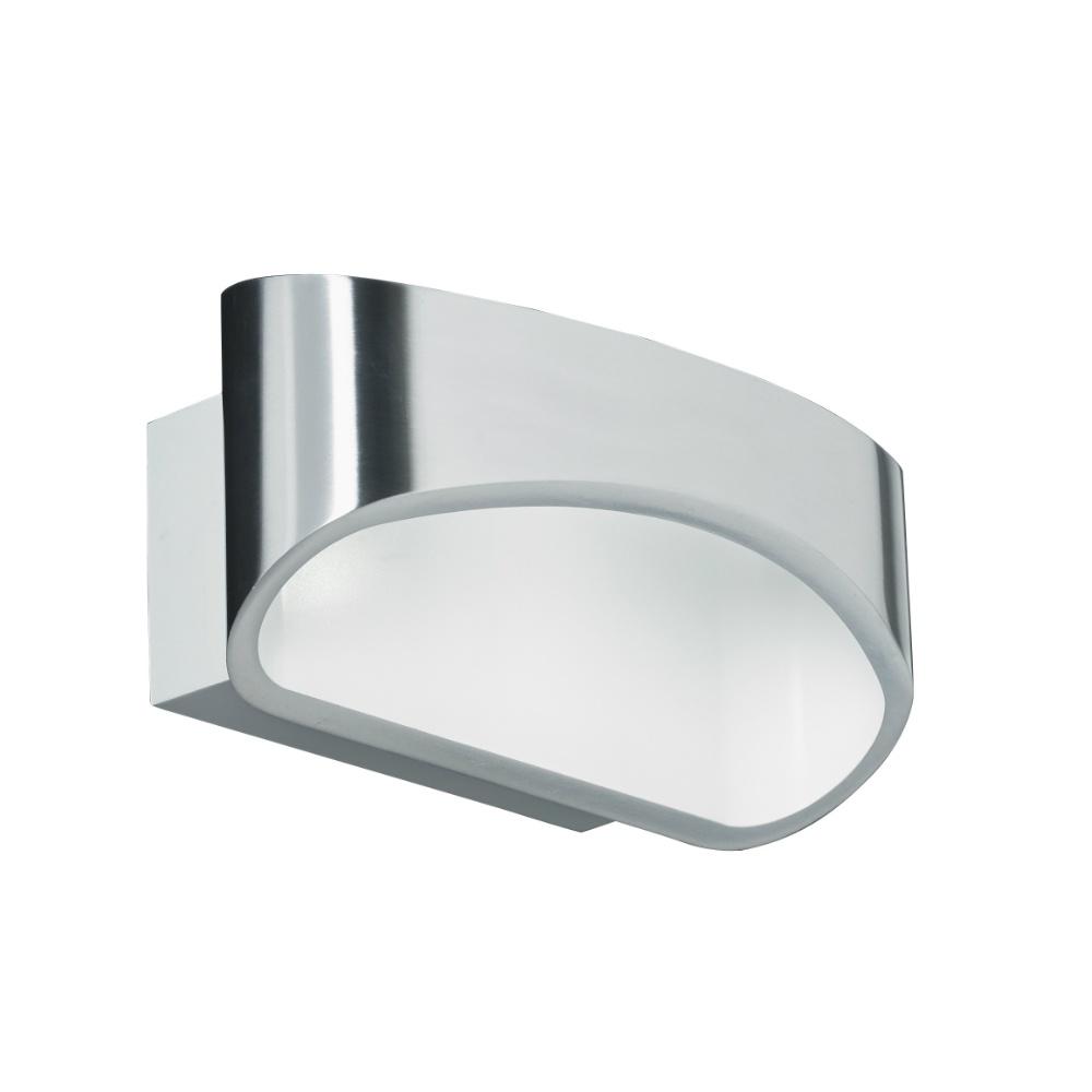 Brushed Chrome Indoor Wall Lights : Endon Lighting Johnson JOHNSON-CH Polished Chrome Wall Light