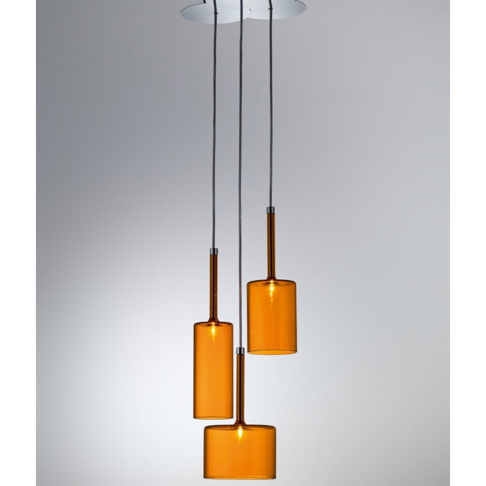 axo light spillray spspill3arcr12v orange pendant ceiling