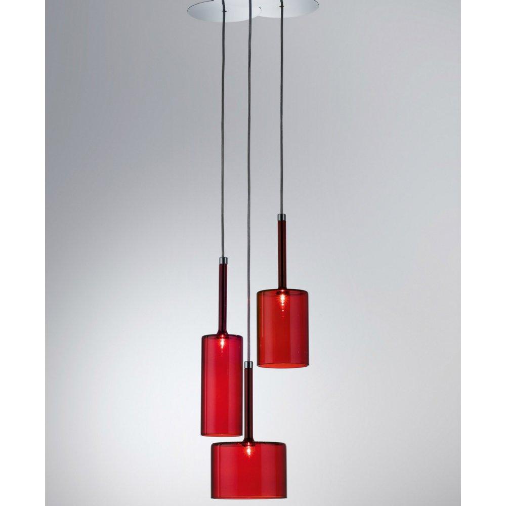 axo light spillray spspill3rscr12v red pendant ceiling light axo light from lightplan uk. Black Bedroom Furniture Sets. Home Design Ideas