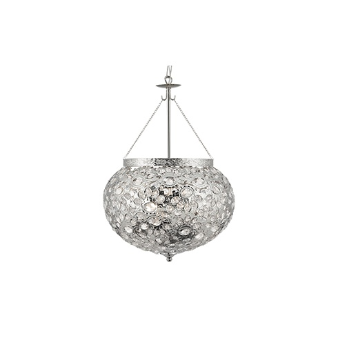 Searchlight electric moroccan 2813 3ss nickel and acrylic ceiling light