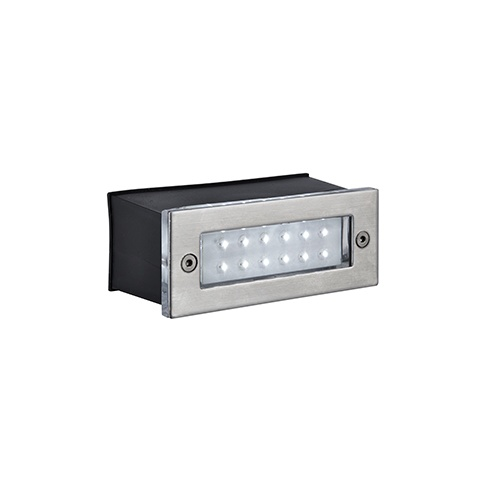 Searchlight Electric Searchlight 2265SS LED Recessed Indoor Outdoor Wal