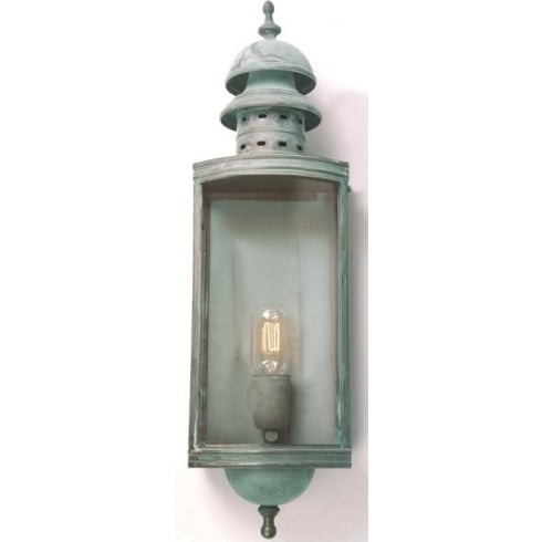 Elstead Lighting Downing Street Outside Verdigris Wall Lantern