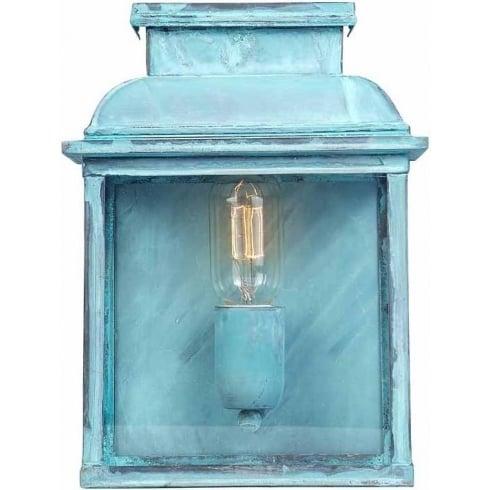 Elstead Lighting Old Bailey Outdoor Verdigris Wall Lantern