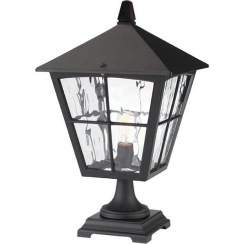 Elstead Lighting Edinburgh BL33 Black Pedestal Lantern