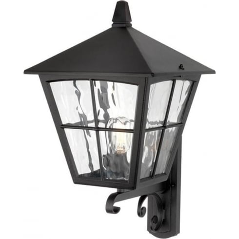 Elstead Lighting Edinburgh BL37 Black Wall Lantern