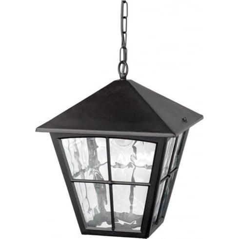 Elstead Lighting Edinburgh BL38 Black Chain Lantern