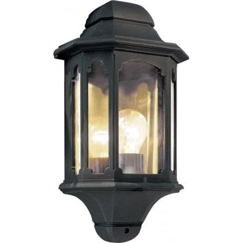Elstead Lighting Chapel CP7 BLACK  Outdoor Half Lantern