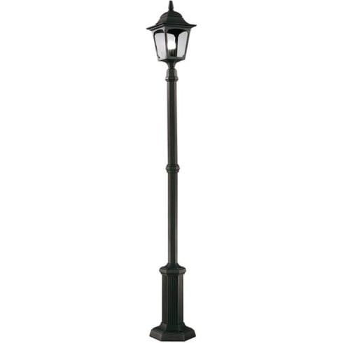 Elstead Lighting Chapel CP6 BLACK Outdoor Midi Lamp Post