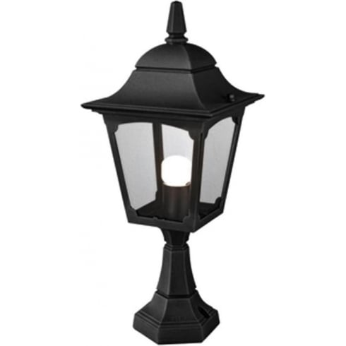 Elstead Lighting Chapel CP4 BLACK Pedestal Lantern