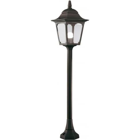 Elstead Lighting Chapel CP5 BLACK Pillar Lantern