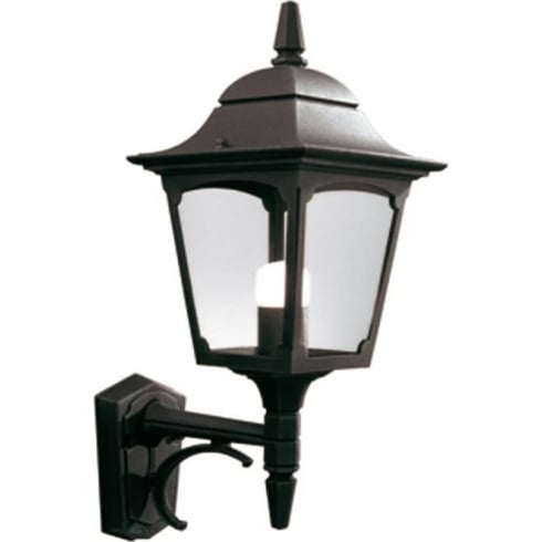 Elstead Lighting Chapel Up CP1 BLACK Outdoor Wall Lantern