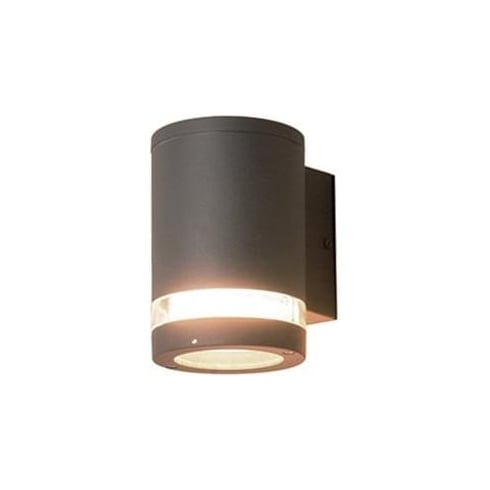 Elstead Lighting Azure Low Energy 3 Dark Grey Outdoor Wall Light