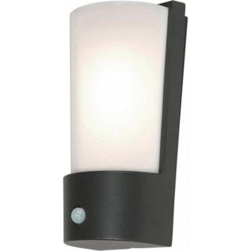 Elstead Lighting Azure Low Energy 7 Dark Grey Outdoor Wall Light PIR