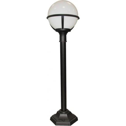 Elstead Lighting Glenbeigh Black & White Outdoor Lamp Post