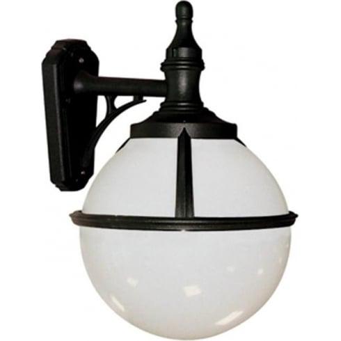 Elstead Lighting Glenbeigh GLENBEIGH WALL Black & White Outdoor Wall Lantern
