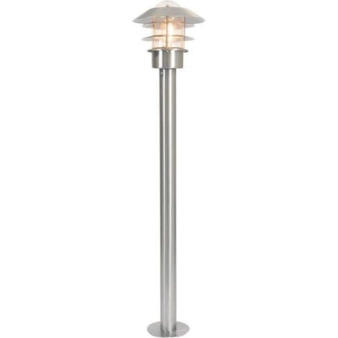 Elstead Lighting Helsinki Stainless Steel Outdoor Bollard