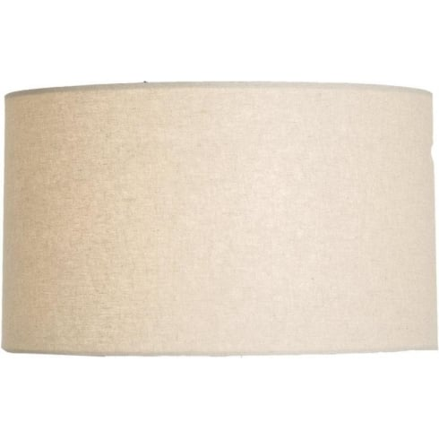 Elstead Lighting Beige Linen Cylinder Shade 34cm