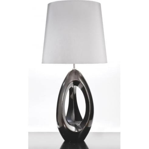 Elstead Lighting Spinnaker Pewter Table Lamp Large