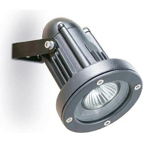LedsC4 Lighting Helio 05-9640-34-37 Grey Injected Aluminium & Hardened Glass Wall Light