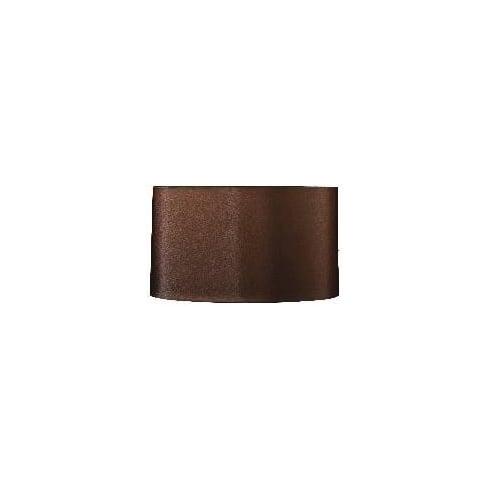 Elstead Lighting Cylinder Shade Brown 42cm
