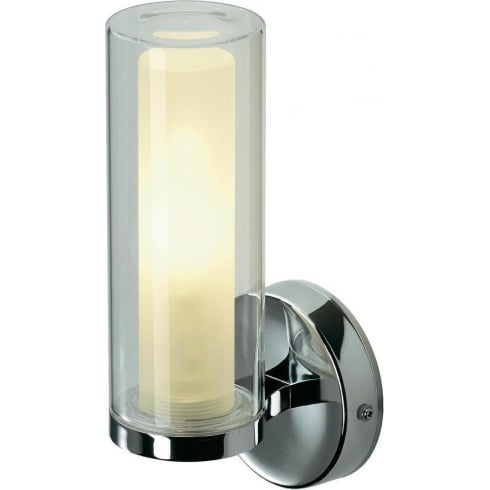Intalite UK 149482 WL 105 Chrome Glass Wall Light