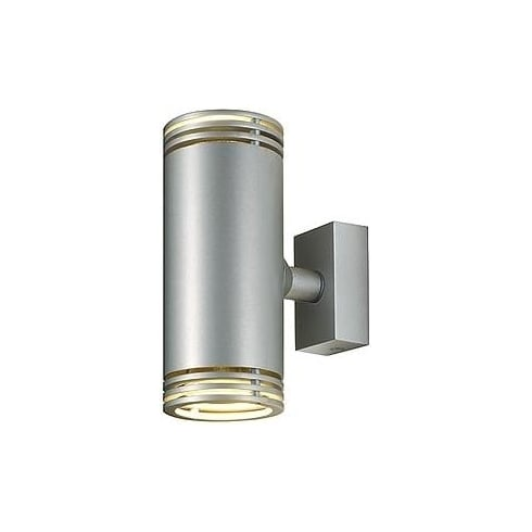 Intalite UK Barro 151910 Silver Grey Up/Down Wall Light
