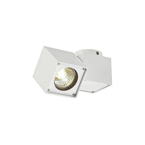 Intalite UK 151521 Altra Dice Spot 1 White Ceiling & Wall Light
