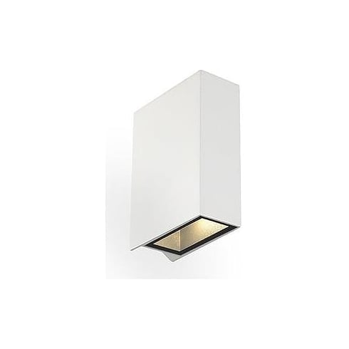 Intalite UK 232471 Quad 2 Square White LED Warm White Wall Light