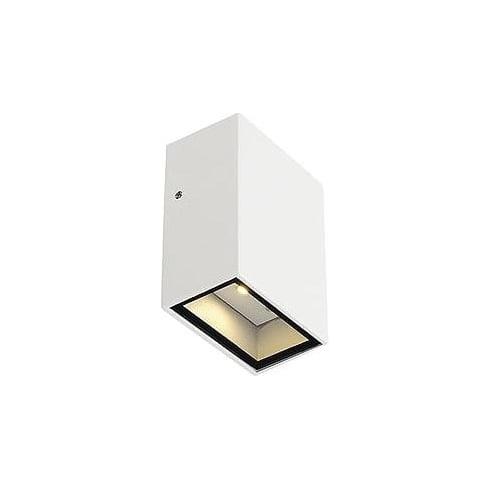 Intalite UK 232461 Quad 1 Square White LED Warm White Wall Light