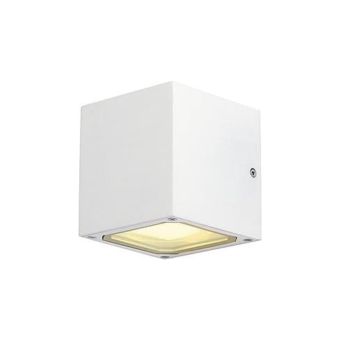 Intalite UK Sitra Cube 232531 Square White Wall Light