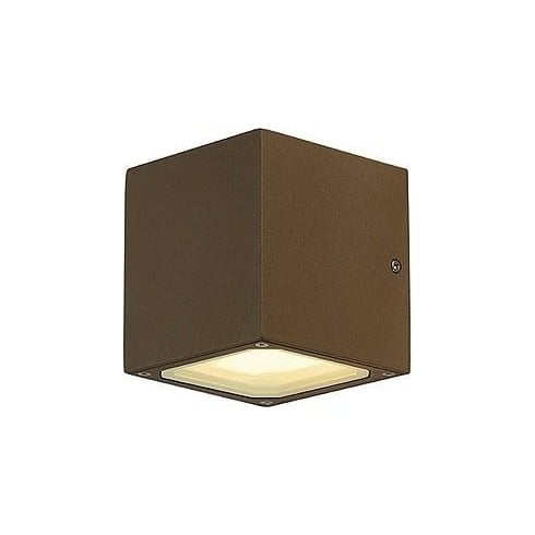 Intalite UK Sitra Cube 232535 Square Anthracite Wall Light