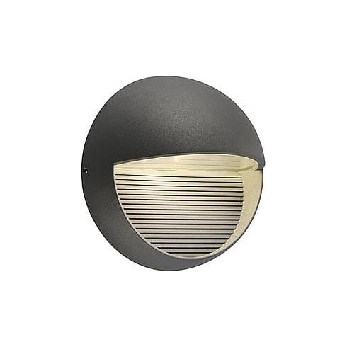 Intalite UK LED Downunder Round 230862 Anthracite LED Warm White Wall Light