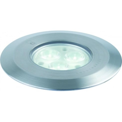 Collingwood Lighting GL038A F WH Stainless Steel LED Ground Light