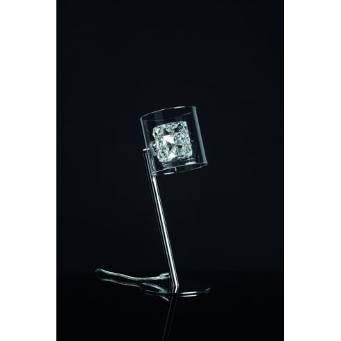 Impex Russell SONJA CFH211171/TL/CH Polished Chrome Table Lamp