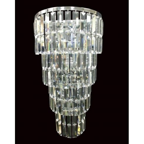 Impex Russell PADUA CE20610/05/WB/CH Polished Chrome Wall Light
